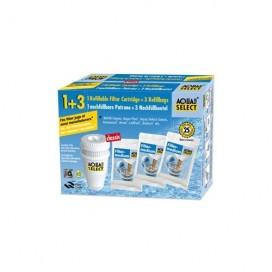 Aqua-Select_1-cartuccia-filtro-ricaricabile-3-sacchetti-ricarica